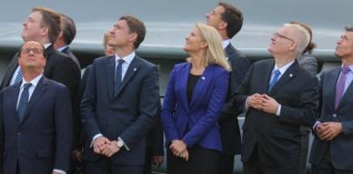 François Hollande au sommet de l'Otan, le 5 septembre 2014.